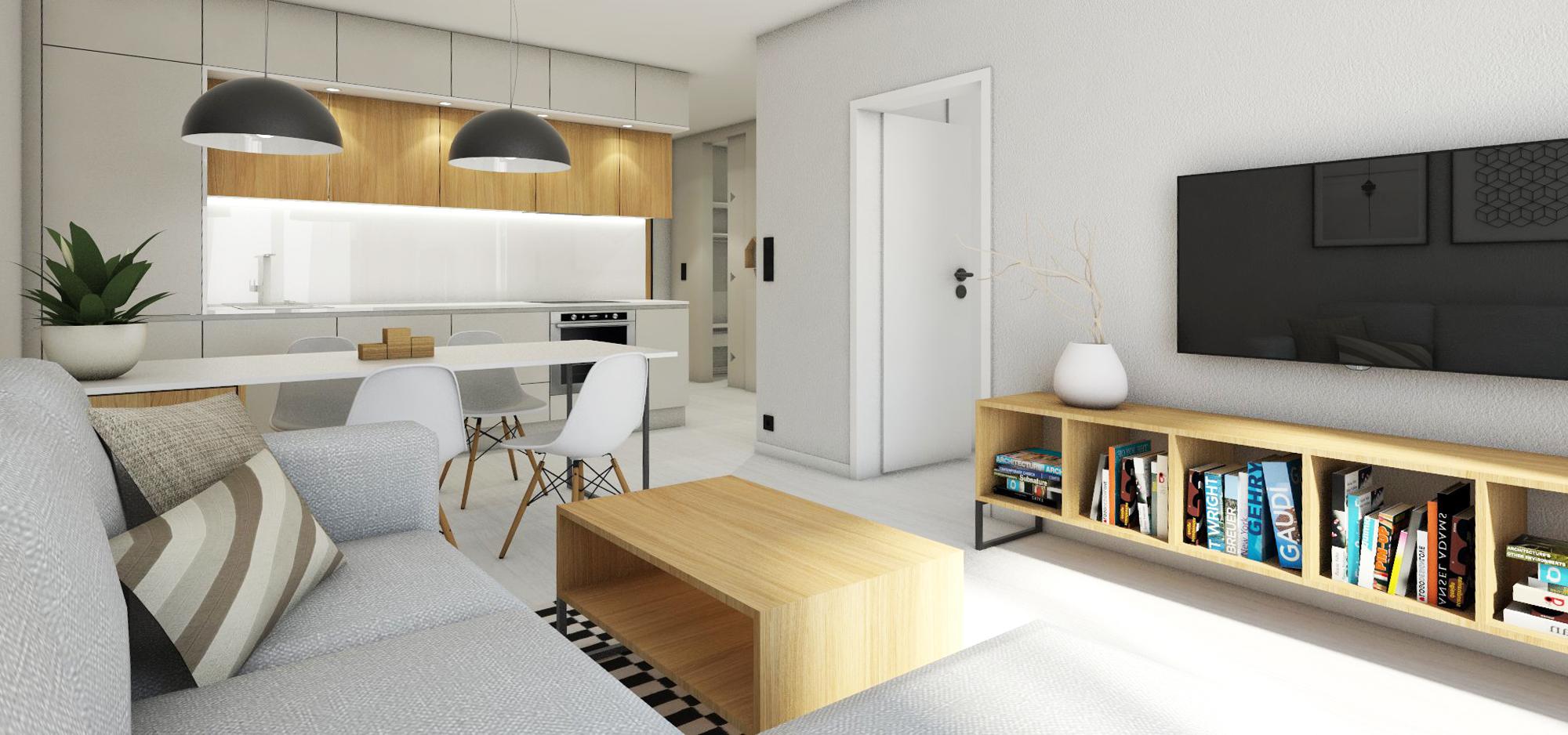 Dvojizbový byt v Jégeho Aleji IV